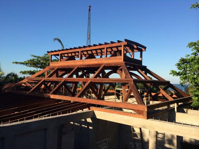 Complete Hamanasi Timber Frame