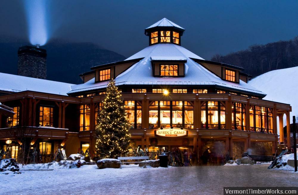 Spruce Camp Base Lodge