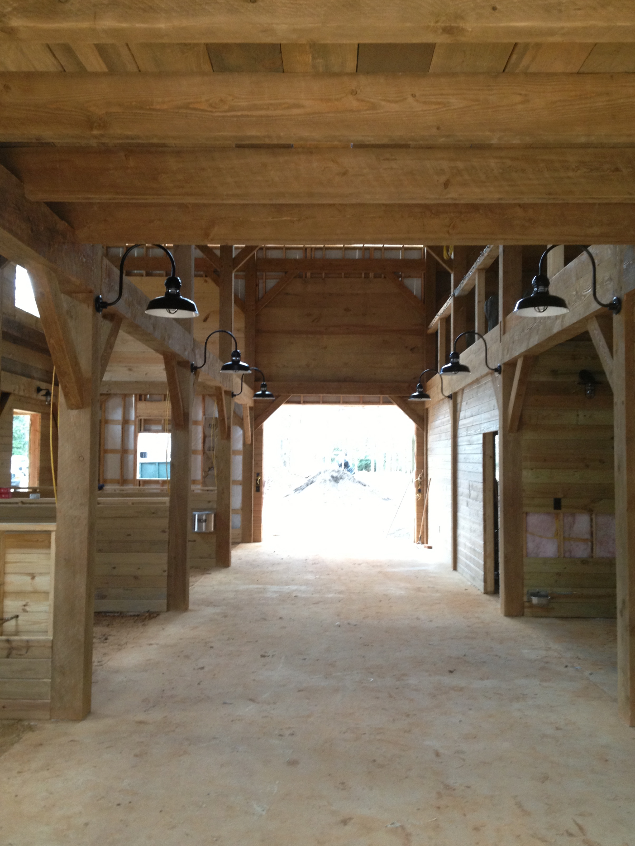 Horse Barn Framing Vermont Timber Works