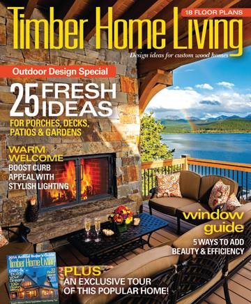 Vermont Timber Works featured in Timber Home Living