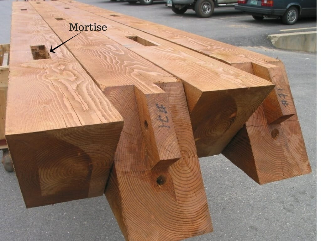 Labled Mortise