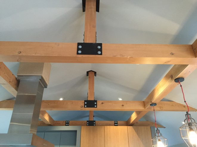 Steel connectors for timbers