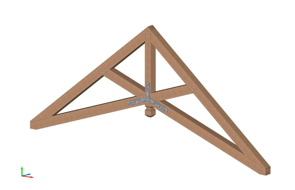 Scissor Trusses Heavy Timber Ceiling Beams Wood Design