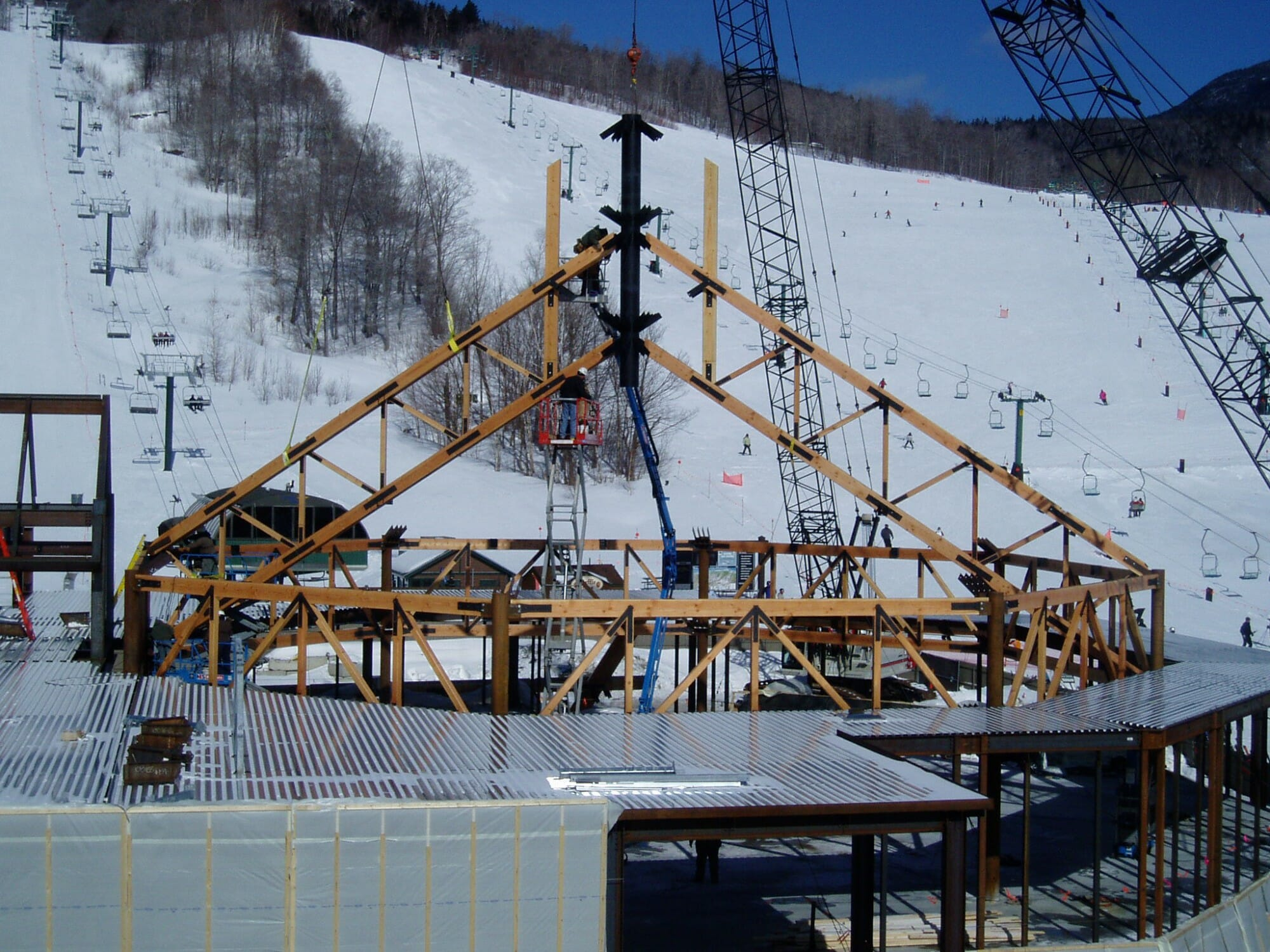 All Season Timber Frame Construction