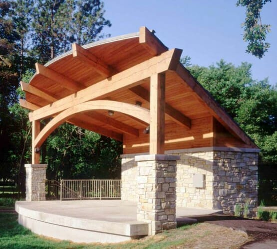 Timber Frame Amphitheater
