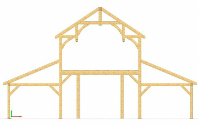 Truss Design VTW creates 3D renderings of frame designs, so the clients can see what the frame looks like before it's constructed. Pretty Cool!