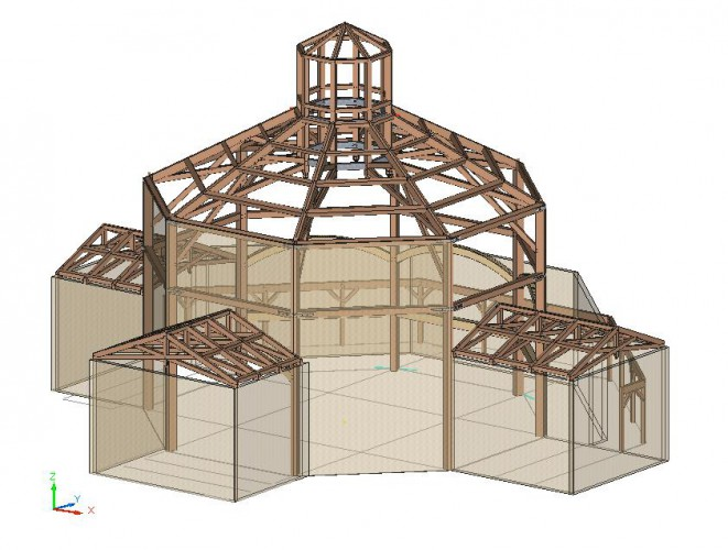 Timber Framing model
