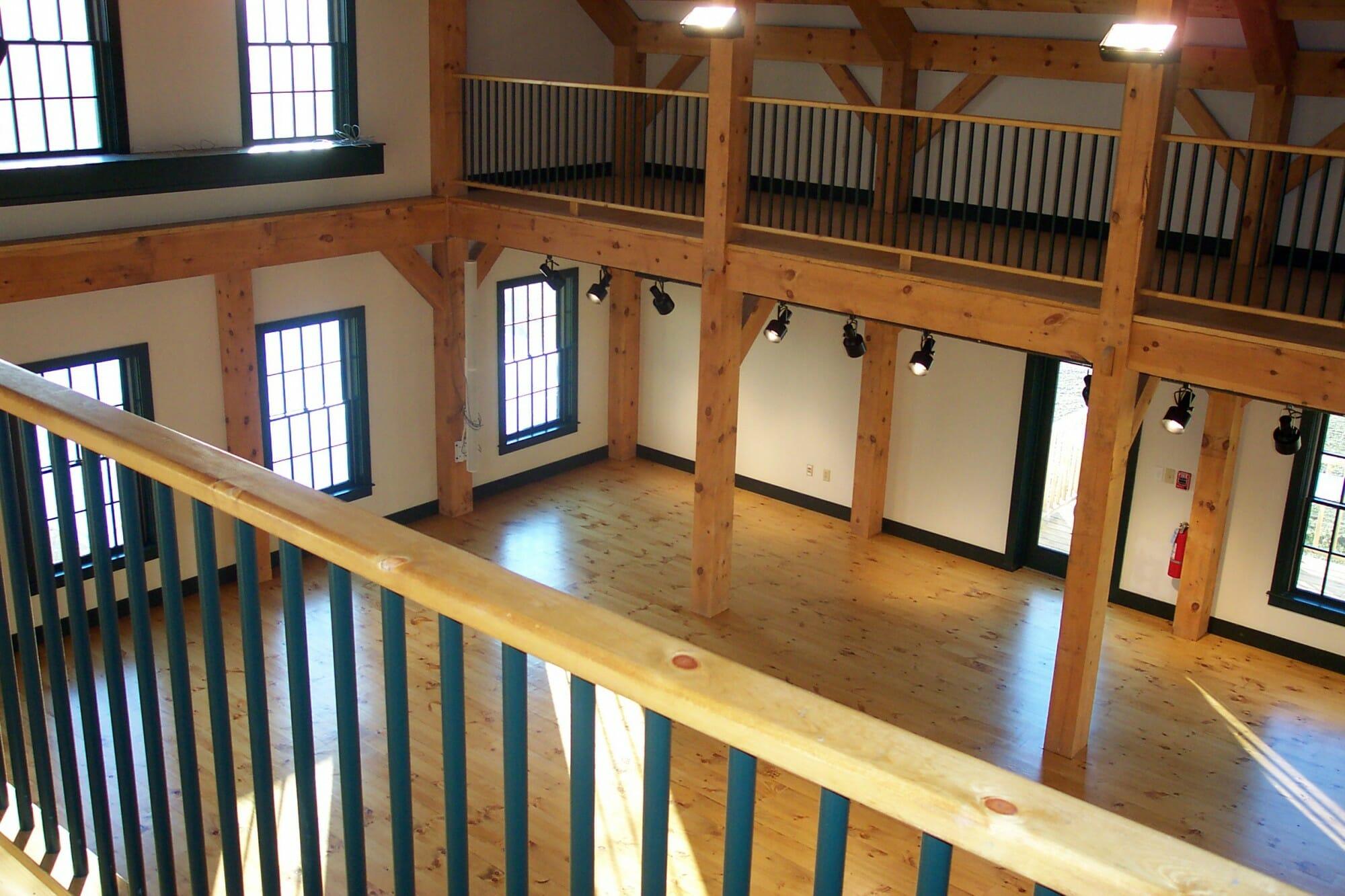Interior from loft