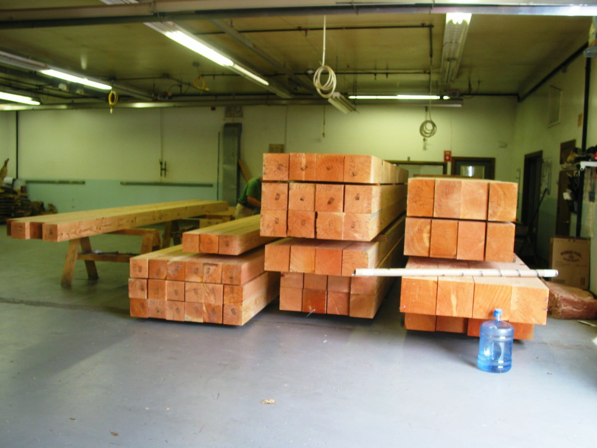Douglas fir Timbers for Chapel