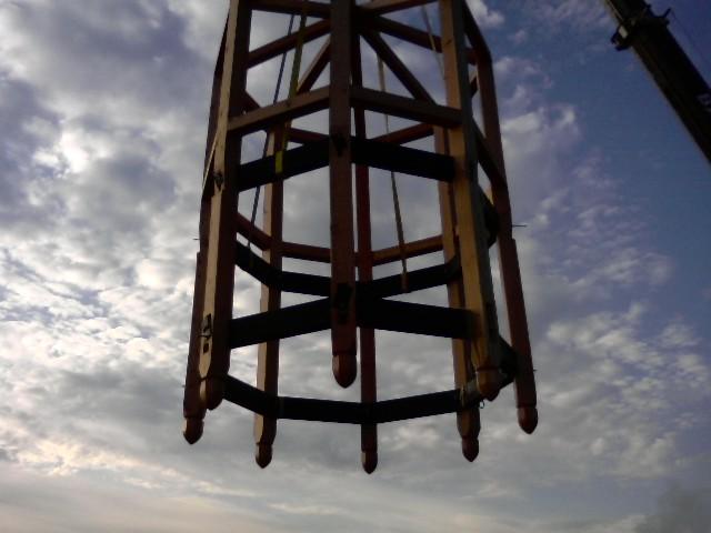 Cupola raising