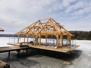 Good As You Can Imagine, There Are A Number Of Challenges Inherent With Building  A Frame Over Water, Let Me Take You Through The Steps Necessary To Complete  A ...
