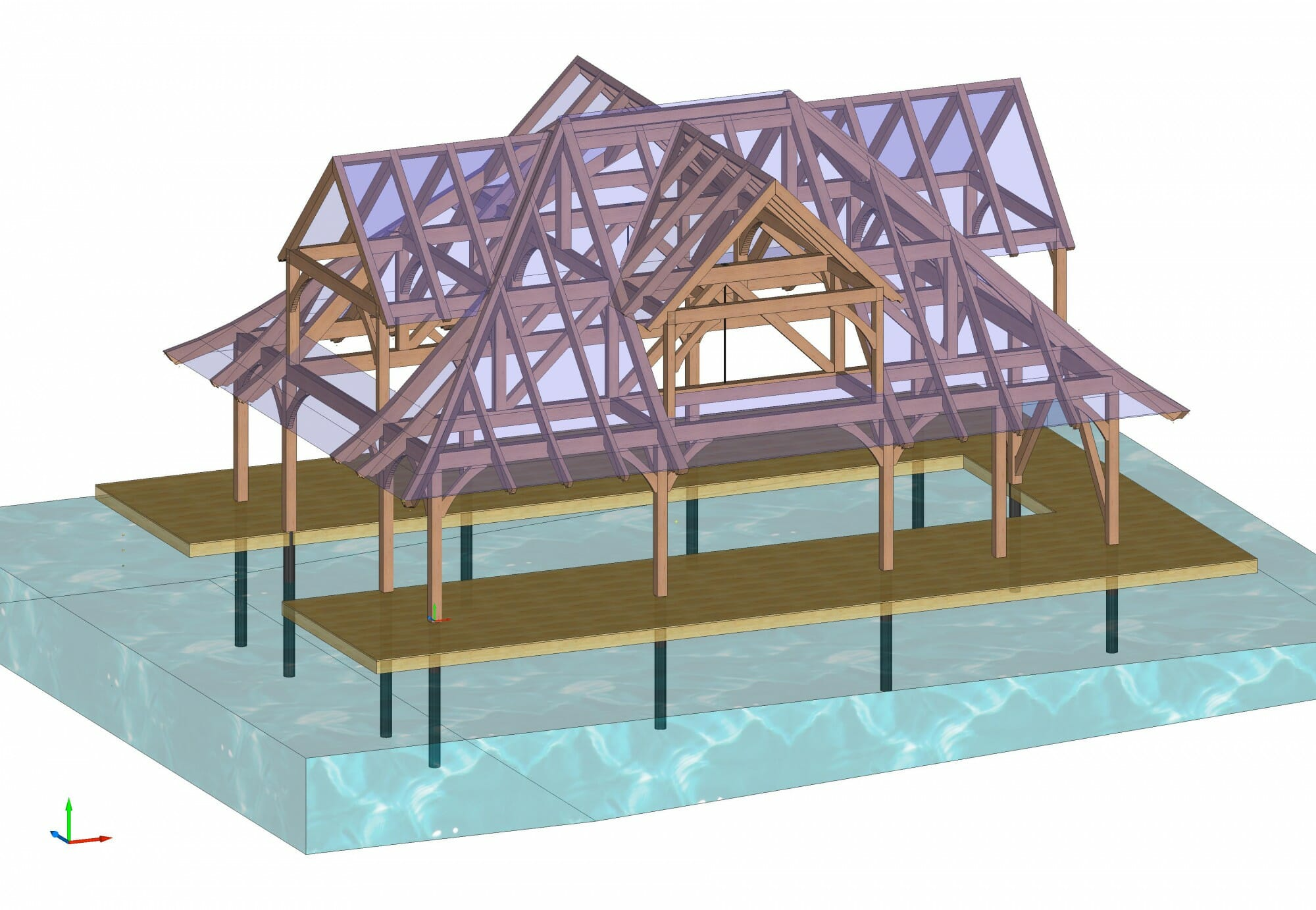 V2 MacPherson Boathouse Dormers Iso 3d