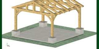 Do You Have Plans For A Simple Pavilion I Can Build Myself?
