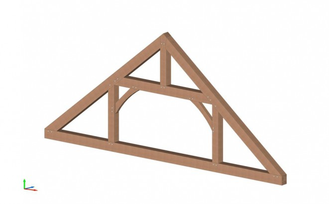 Queen Post Truss Design