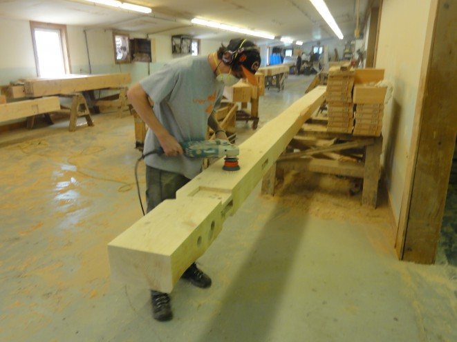 Power tools for timber framing or post and beam construction