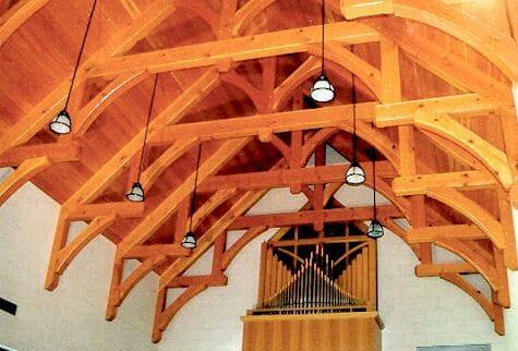 Westminster Presbyterian Chapel Hammer Beam Trusses