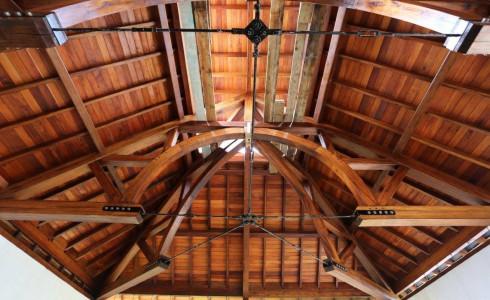 Hamanasi Resort Timber Frame Handcrafted Wood Beams