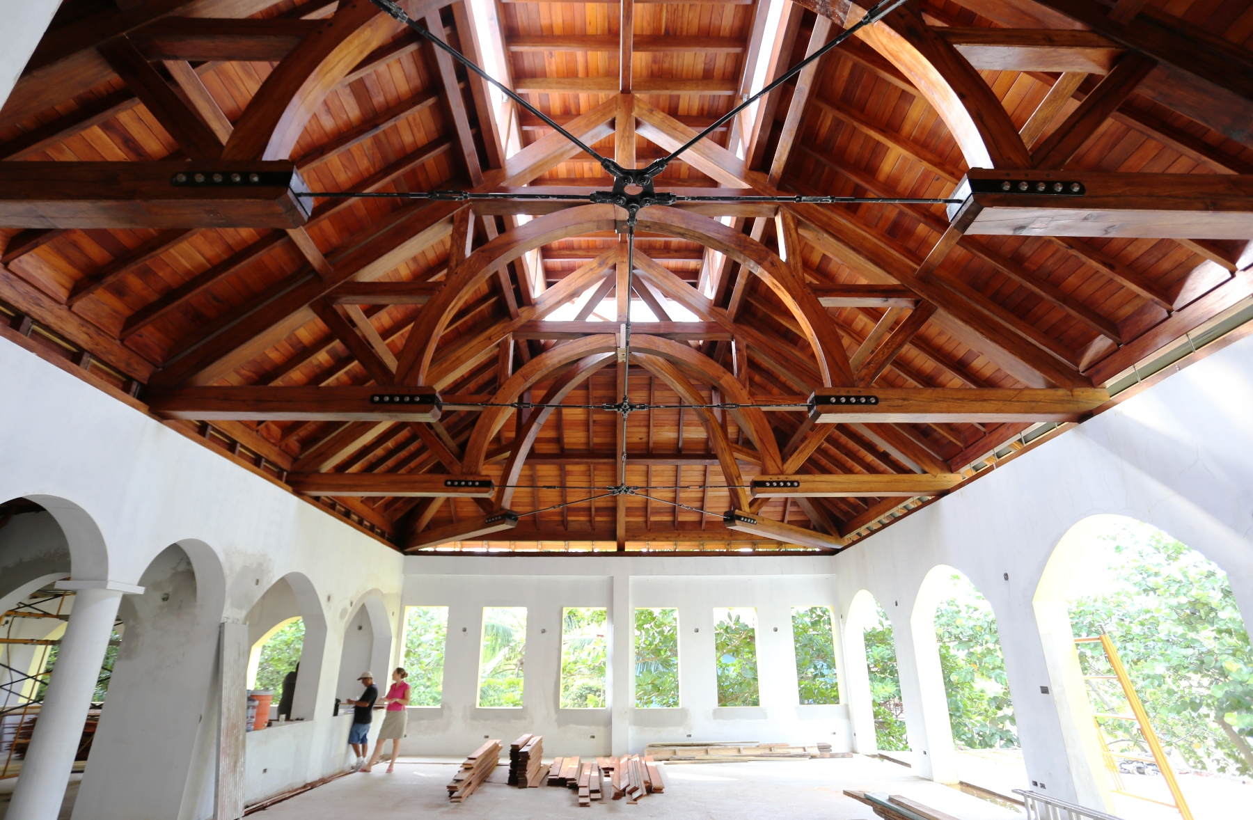 Hamanasi Resort Timber Frame Handcrafted Wood Beams