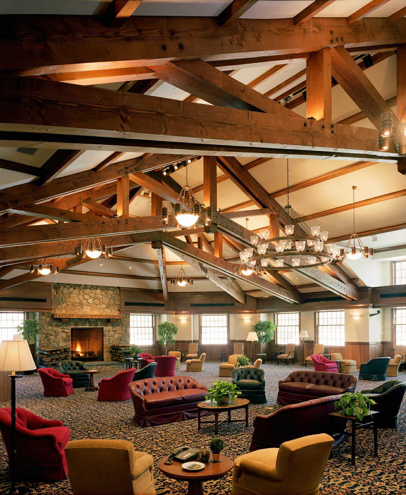 Ceiling Timber: Heavy Timber Ceiling Beams