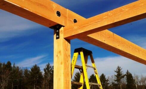 Badger Balm Factory Hybrid Timber Frame Gilsum Nh