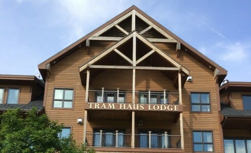heavy timber construction jay peak timber frame balcony