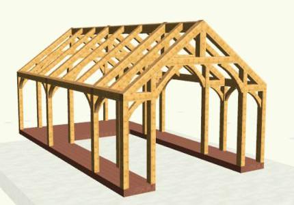 Timber frame design post and beam design for House plans timber frame construction