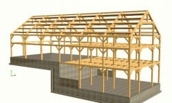 timber-framing-process-3D-design-car-barn-gallery