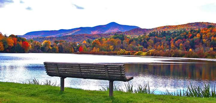 View over Lake Runnemede - Mt. Ascutney