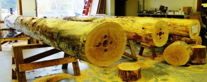 lumber poles QA