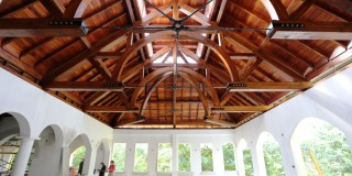 Custom Timber Frame Design: Tropical Hotel