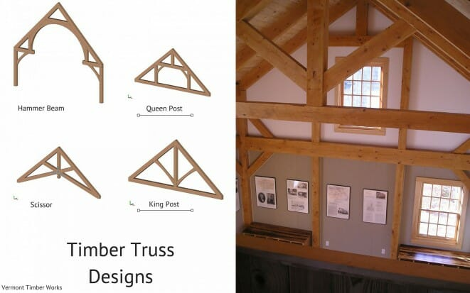 Timber Truss Designs King & Queen