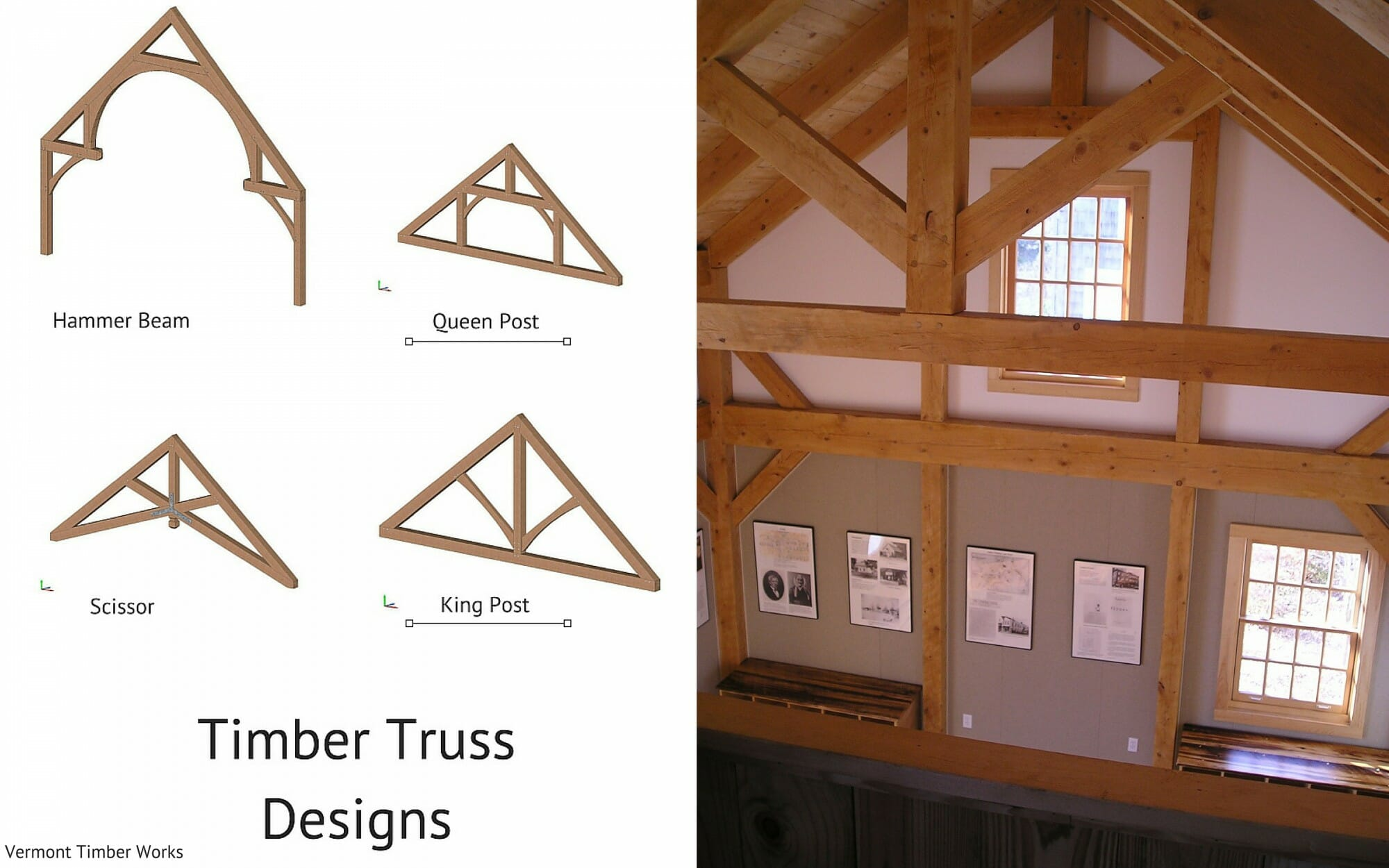 Custom timber frame design simple barn for Timber frame designs