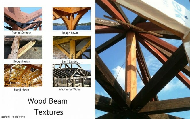Wood Beam Texture Semi Sanded