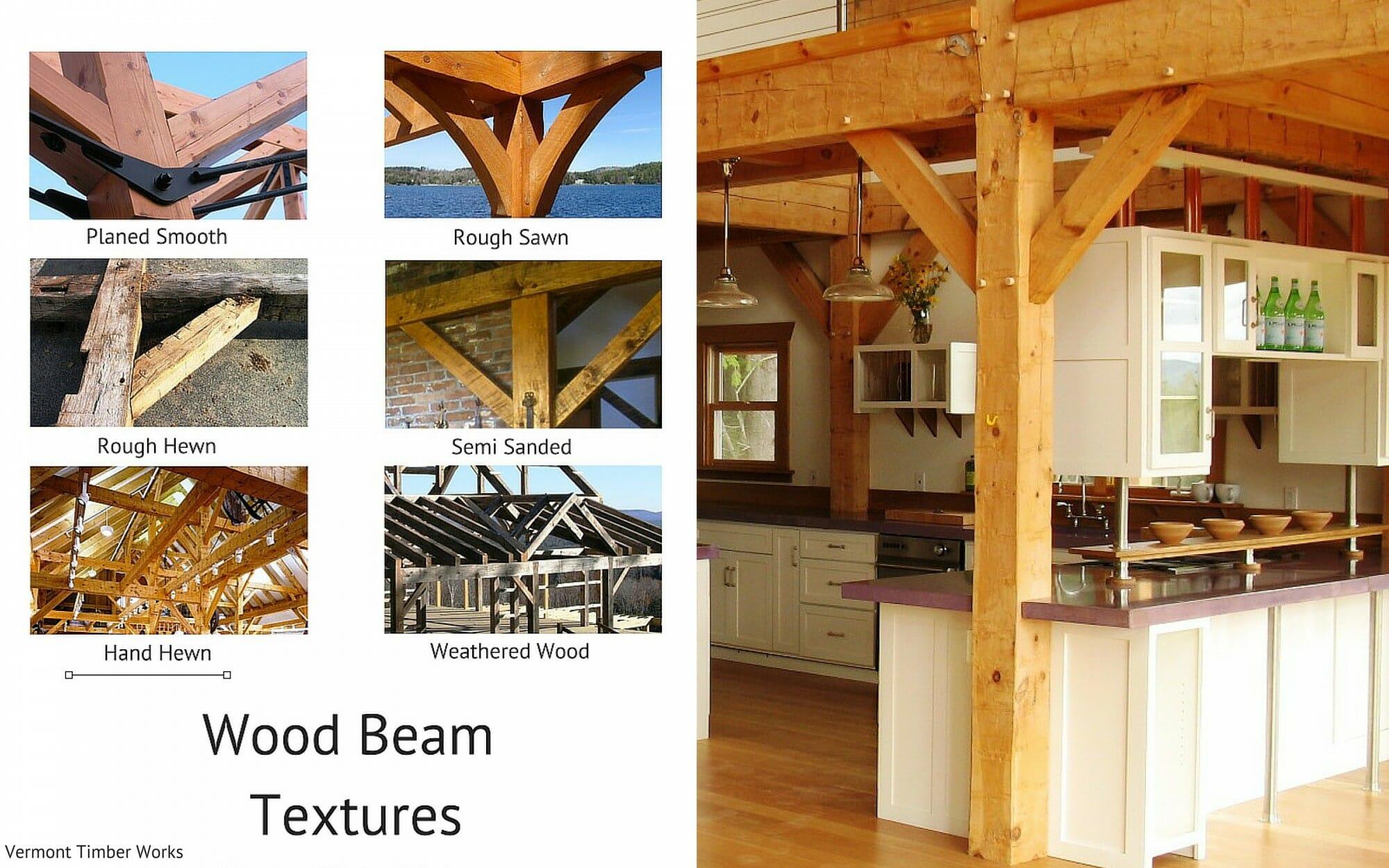 Wood Beam Textures Hand Hewn Gambrel Barn