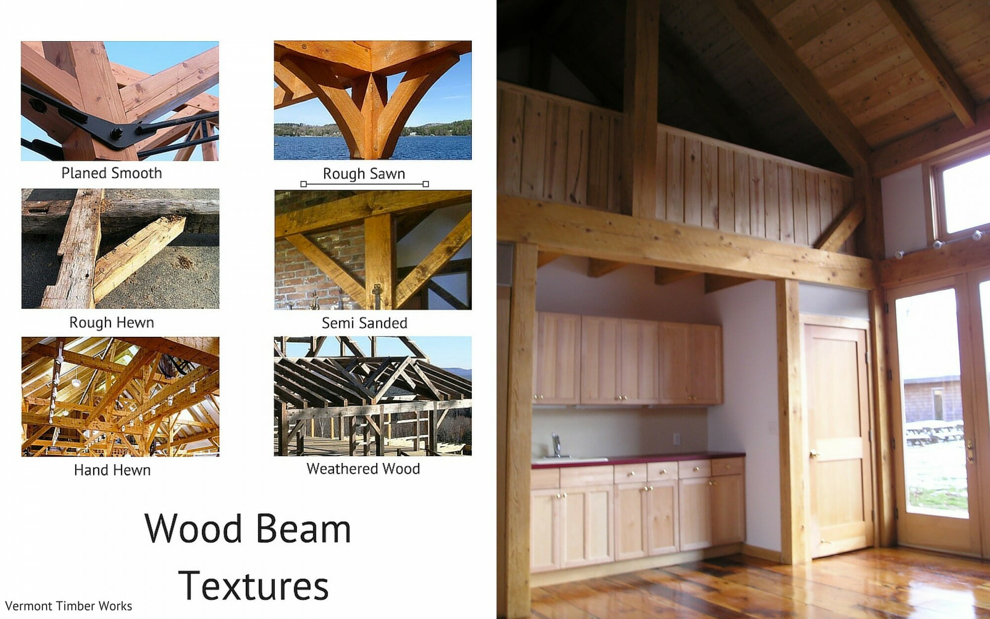 Wood Beam Textures Rough Sawn 2
