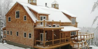Custom Timber Frame Design: Gambrel Barn
