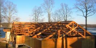 Custom Timber Frame Design: Pool House