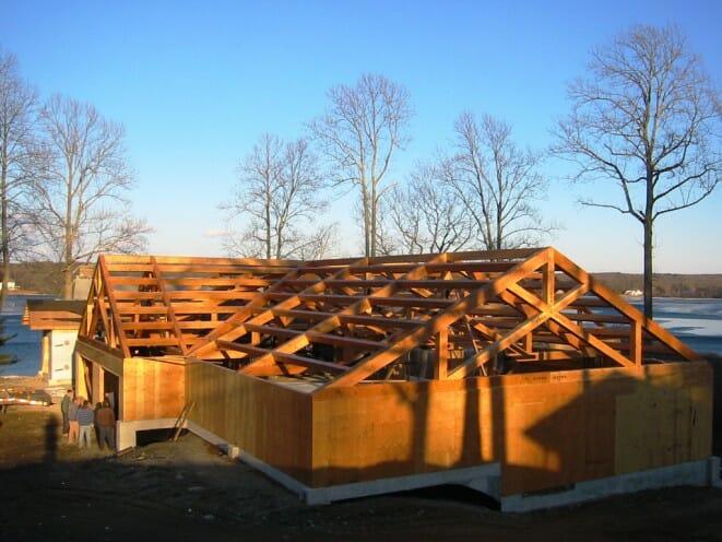 custom timber frame