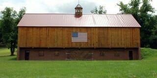 Custom Timber Frame Design: Oak Barn