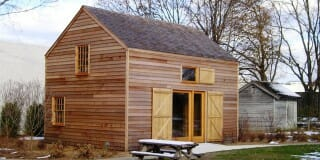 Custom Timber Frame Design: Simple Barn
