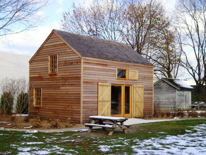 Custom timber frame design simple barn for Simple timber frame homes
