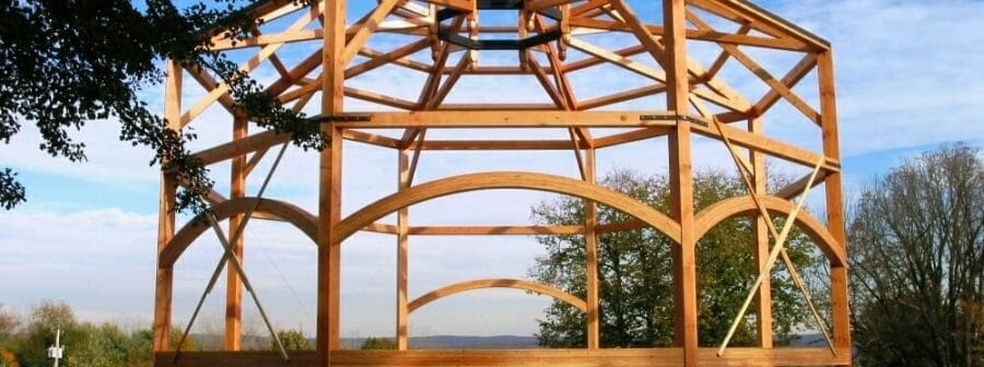 "Have You Ever Built A ""Round"" Timber Frame Structure?"