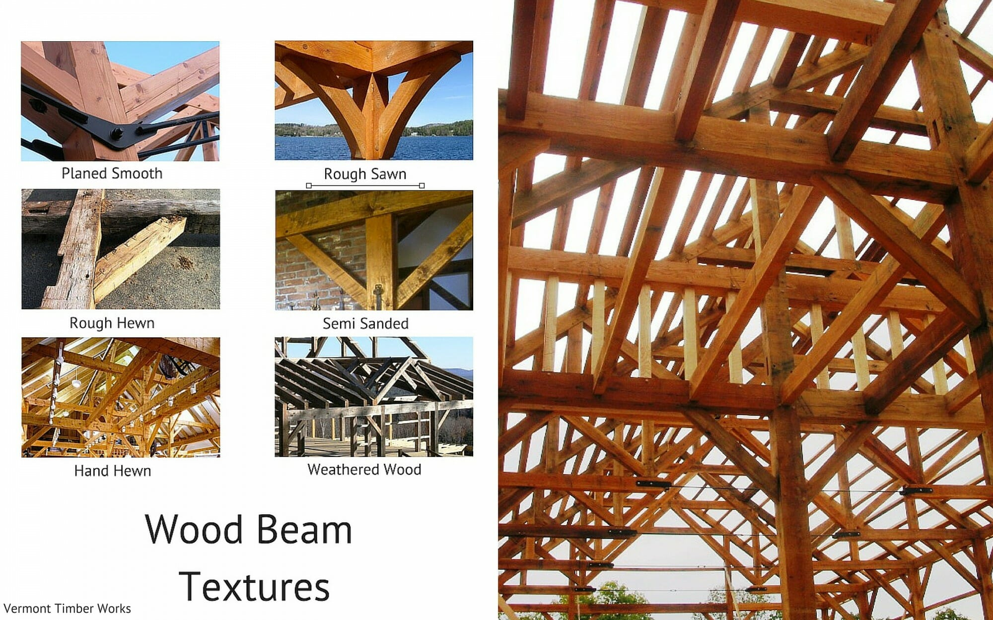 wood beam texture rough sawn