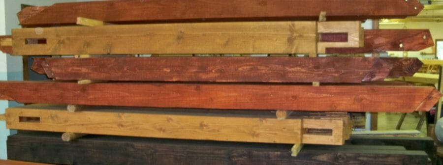 Stained Wood for Robinson Residence