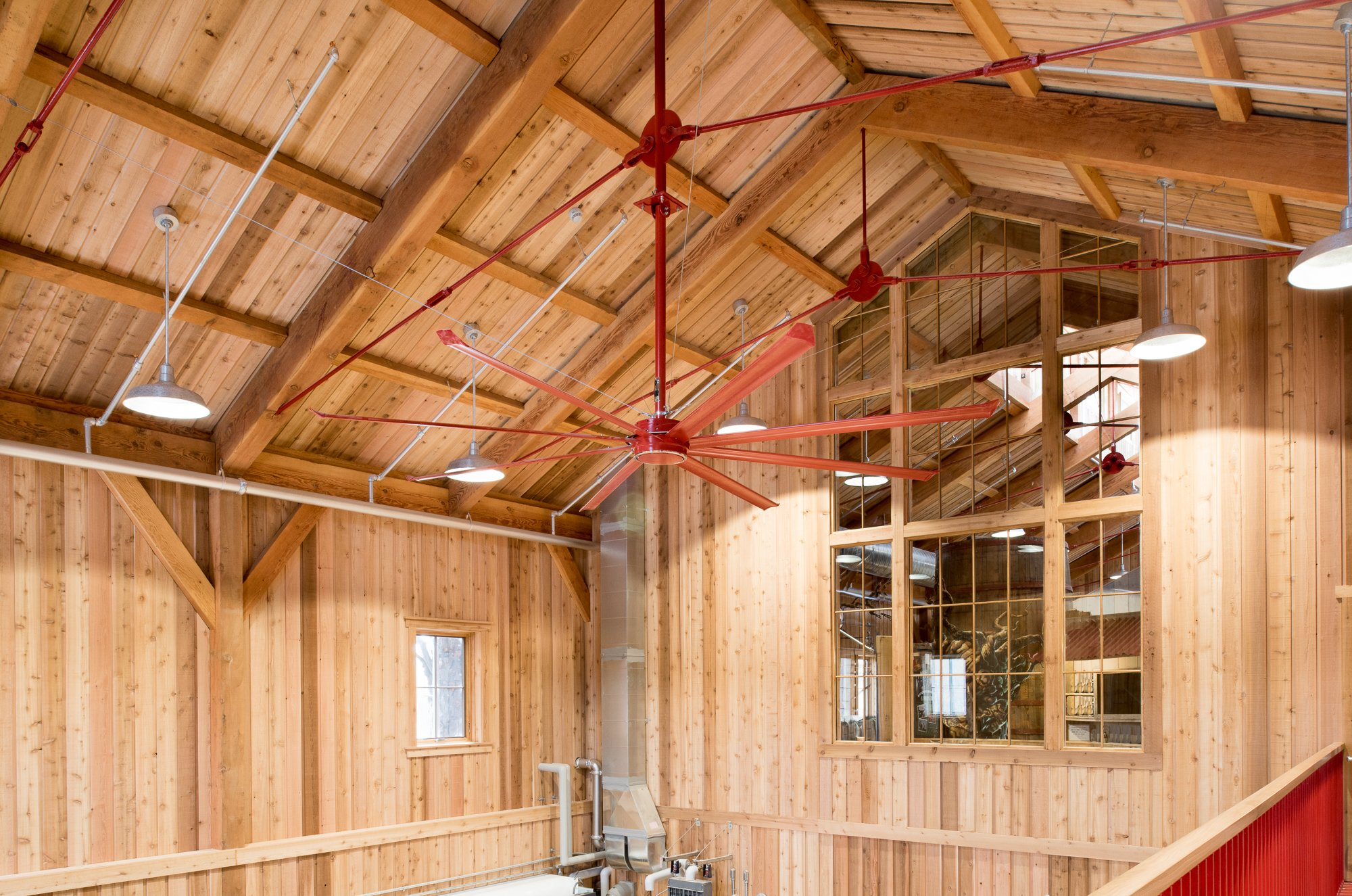 Handcrafted Timber Frame For A Cidery In New England