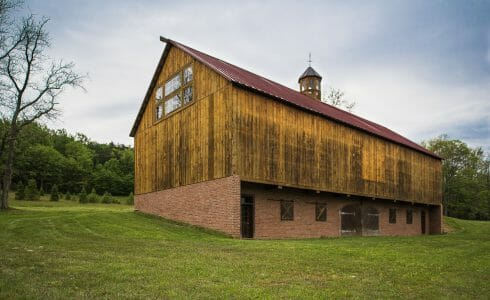 Exterior Of Rich Barn in PA