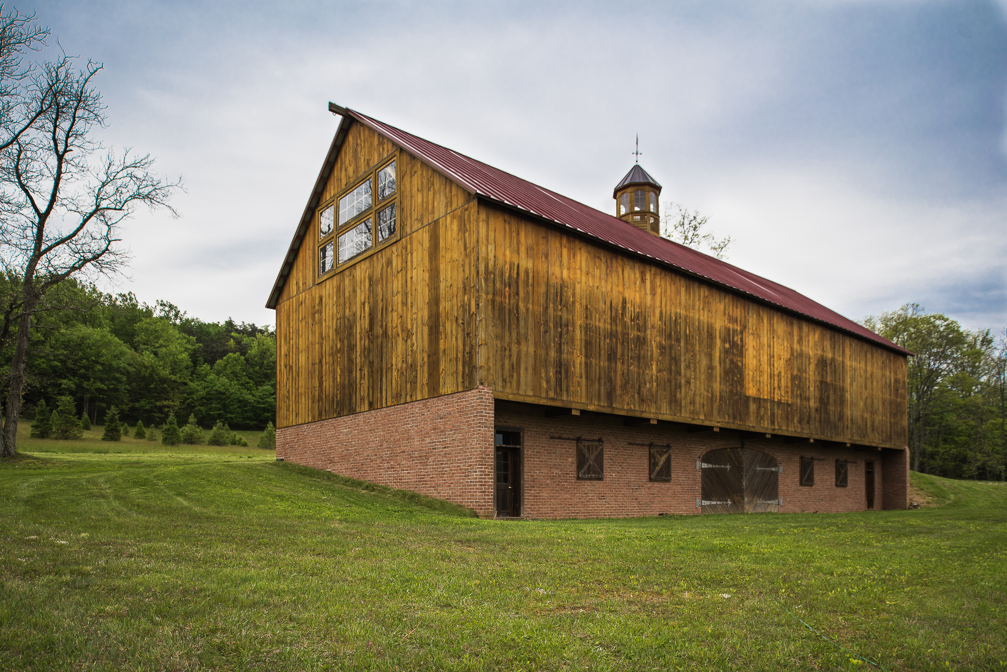 timber frame barn - photo #12
