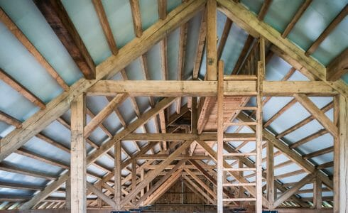 Interior of Rich Barn in PA