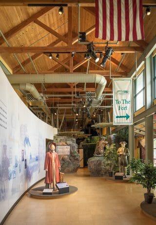 Interior of Fort Necessity