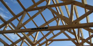 Steel Plates in Timber Frame